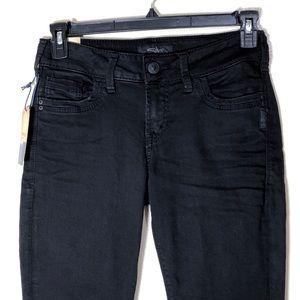 🔵 Silver Jeans Womens Suki Ankle Skinny